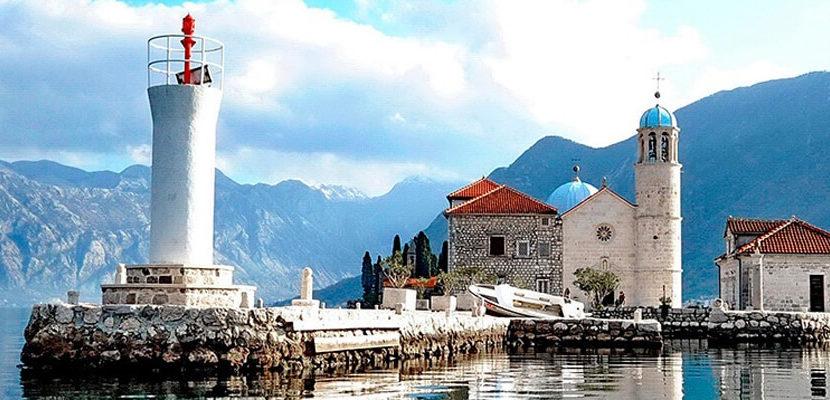 Gospa od skrpjela - Perast Montenegro