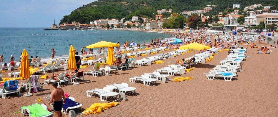 Petrovac Beach Montenegro