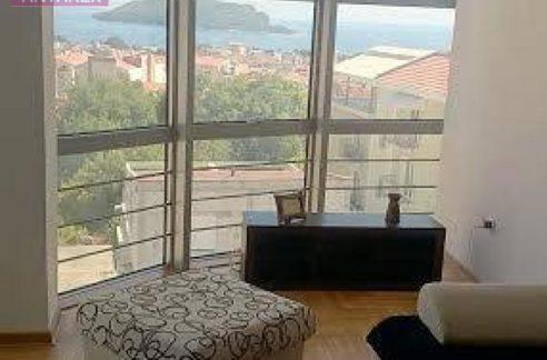 Bright apartment with sea view Lazi, Budva-Top Estate Montenegro