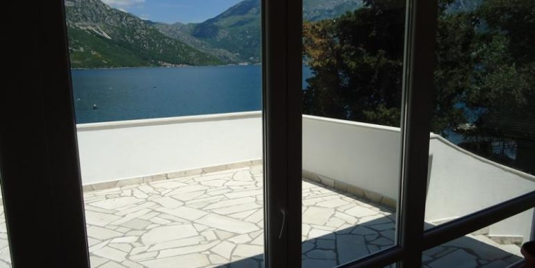 House balcony Kostanjica Kotor Top Estate Montenegro