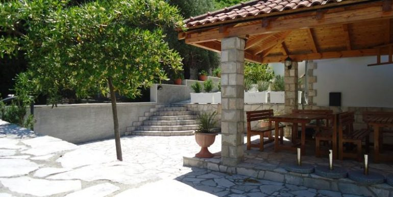 Property terrace Kostanjica Kotor Top Estate Montenegro