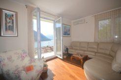 Zweizimmer Wohnung mit Meerblick Dobrota, Kotor-Top Immobilien Montenegro