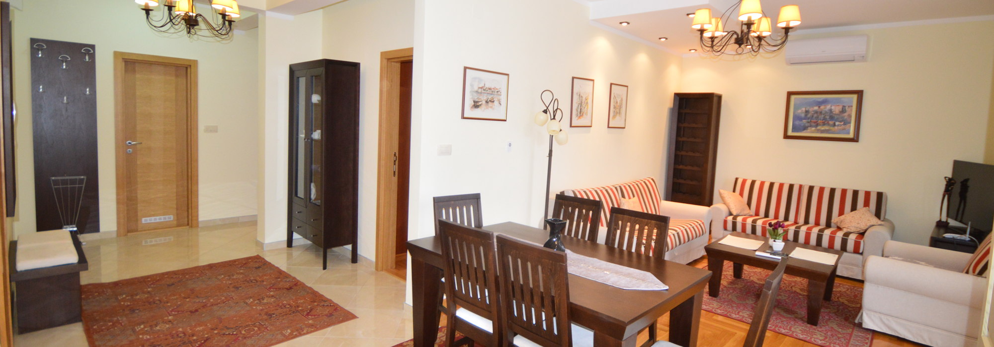 High quality apartment Djenovici, Herceg Novi