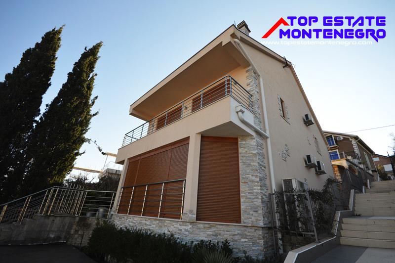 Large villa near the beach Djurasevici, Tivat