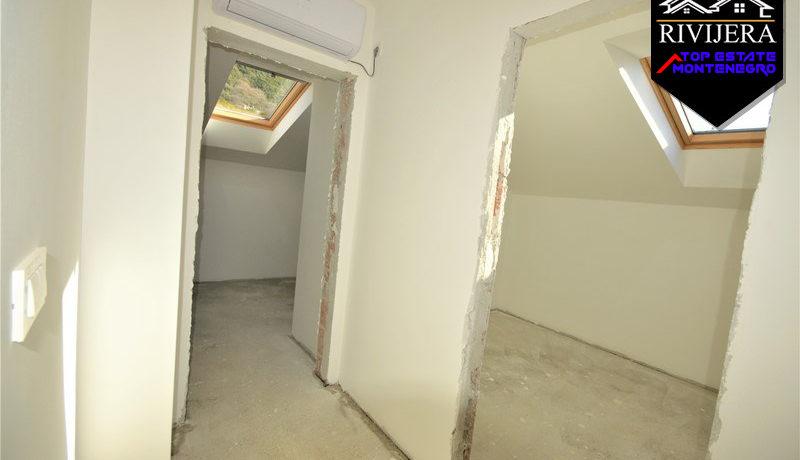 Новая уютная квартира с видом на море Кумбор, Герцег Нови-Топ недвижимости Черногории