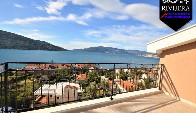 Novi dupleks stan sa pogledom na more Kumbor, Herceg Novi-Top Nekretnine Crna Gora