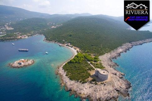 Land for sale Miriste, Lustica, Herceg Novi-Top Estate Montenegro