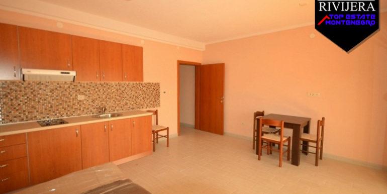 Neue Einzimmerwohnung Bijela, Herceg Novi-Top Immobilien Montenegro
