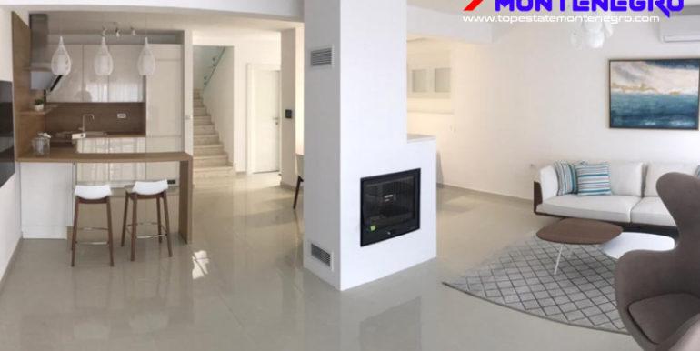 Красивый новый дом Крашичи, Тиват-Топ недвижимости Черногории