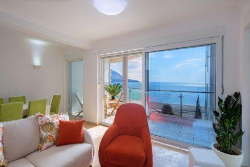 Современная квартира на берегу моря Будва-Топ недвижимости Черногории