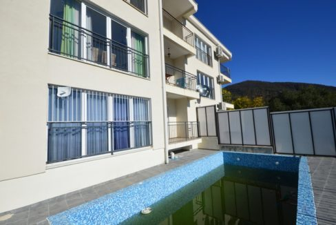 Apartment with community pool Baosici, Herceg Novi-Top Estate Montenegro