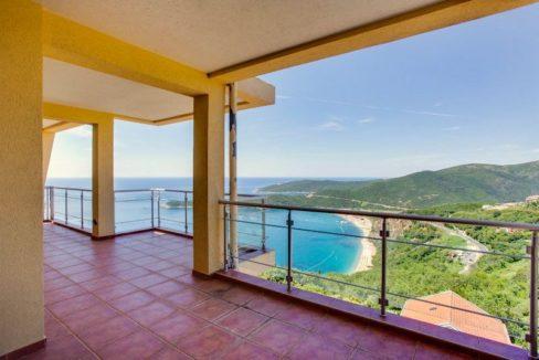 Apartment with fantastic sea view Prijevor, Budva-Top Estate Montenegro