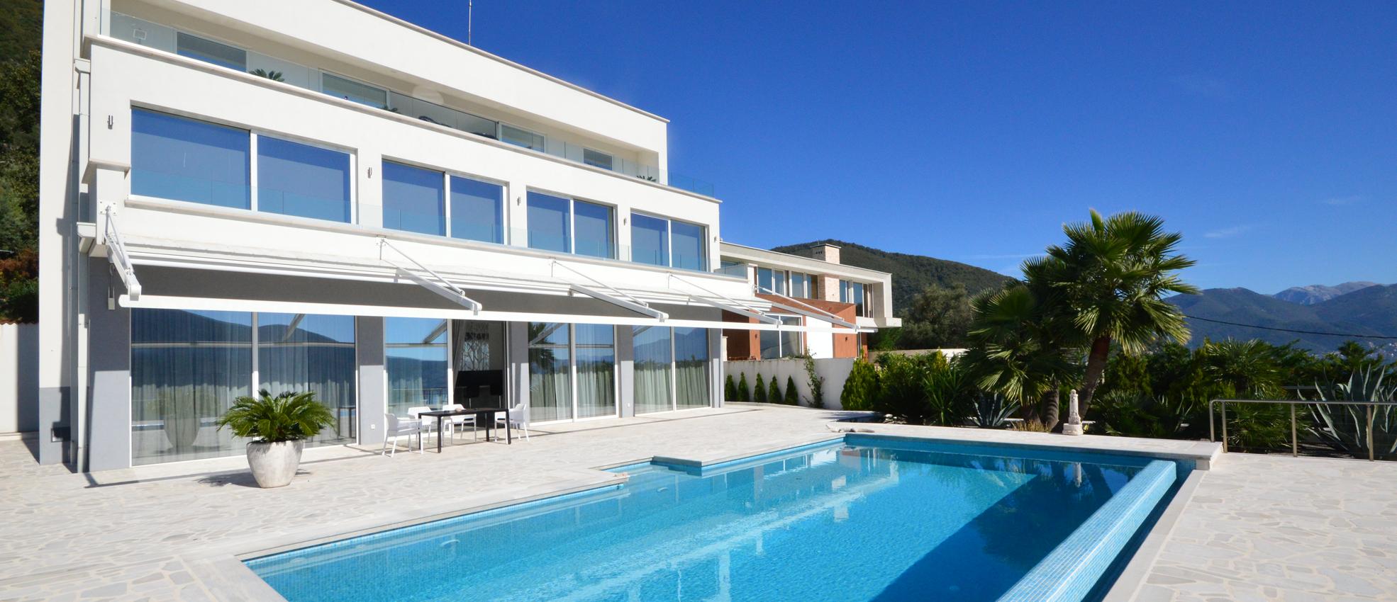Extraordinary new-build villa with fantastic view in Djenovici