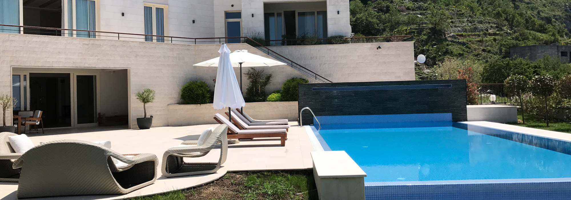 Exclusive new family villa Blizikuce, Budva