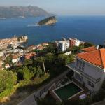Vila sa fantastičnim pogledom na more Budva-Top Nekretnine Crna Gora