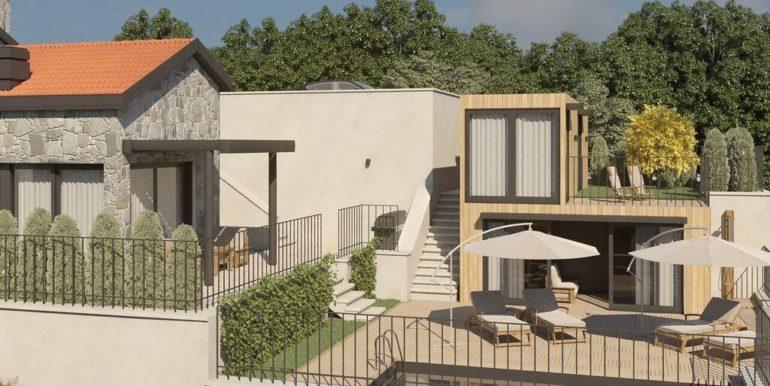 Дом с бассейном Mазина, Тиват-Топ недвижимости Черногории