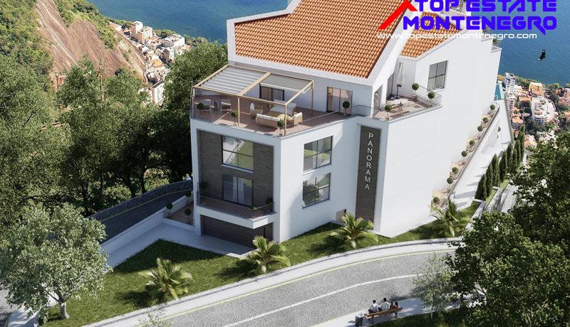Atraktivni novi stanovi sa pogledom na more Mažina, Tivat-Top Nekretnine Crna Gora
