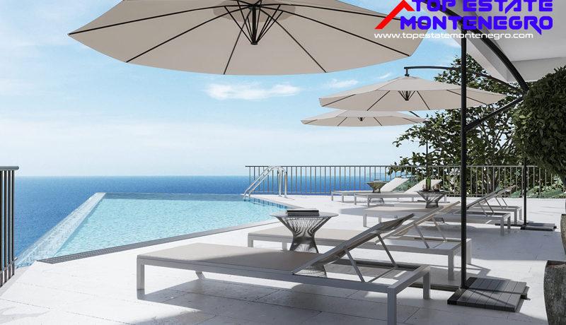 Attraktive neue Wohnungen mit Meerblick Mazina, Tivat-Top Immobilien Montenegro