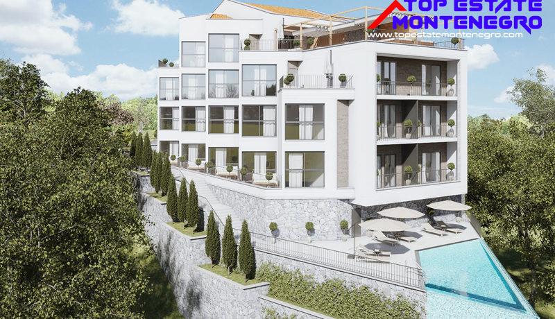 Exclusive attractive new apartments Mazina, Tivat-Top Estate Montenegro