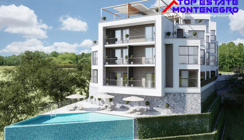 Exklusive attraktive neue Wohnungen Mazina, Tivat-Top Immobilien Montenegro