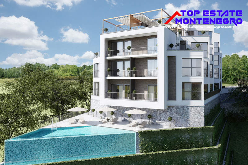 Exclusive attractive new apartments in Tivat