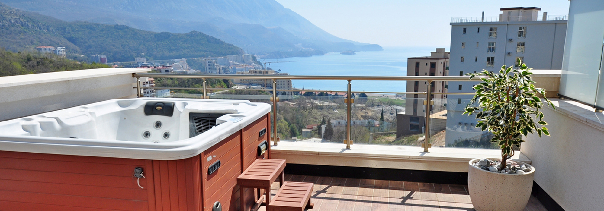 Luxurious apartment in Becici, Budva