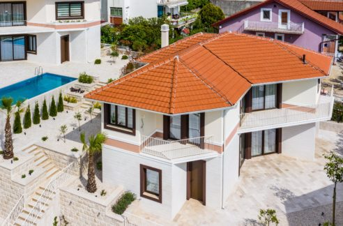New house with panoramic sea view Kava, Tivat-Top Estate Montenegro